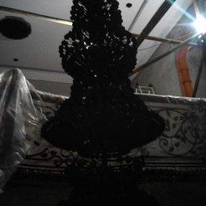 cuci lampu kristal bandung