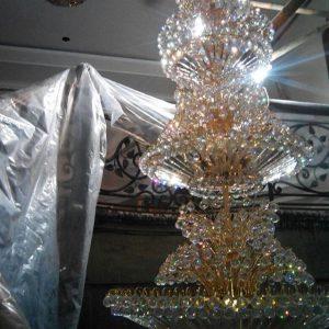 service lampu kristal bandung