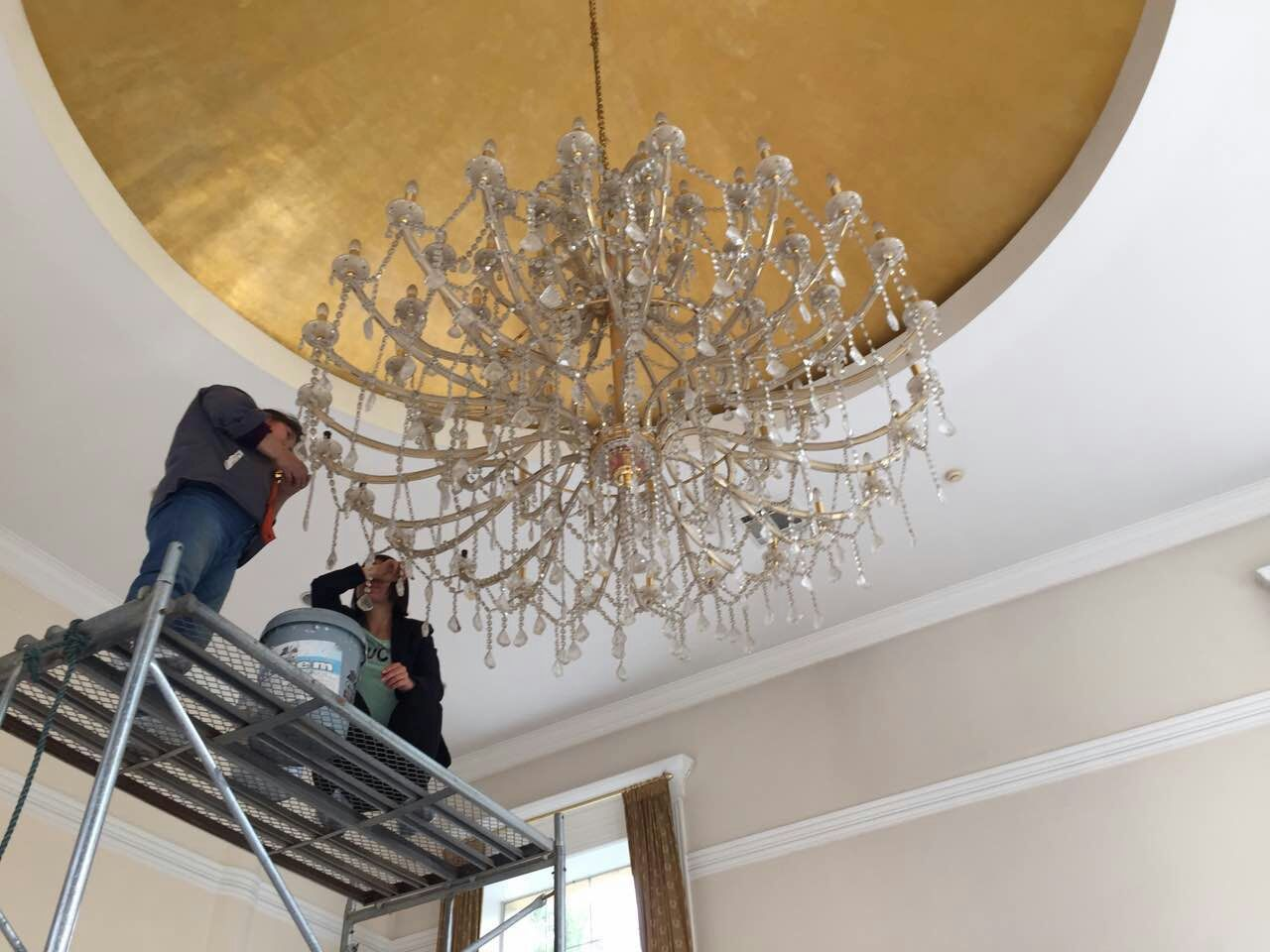 Jasa Cuci & Service Lampu Kristal Bandung Tepercaya