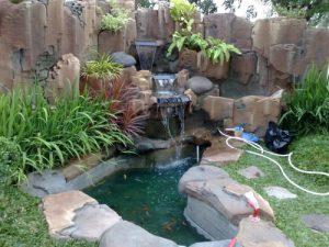 jasa pembuatan kolam ikan koi di bandung