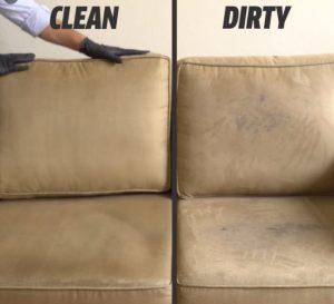 cara membersihkan sofa kulit yang kotor