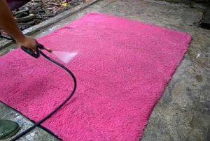 cara mencuci karpet rasfur