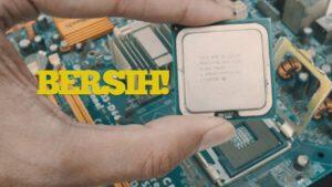 membersihkan processor