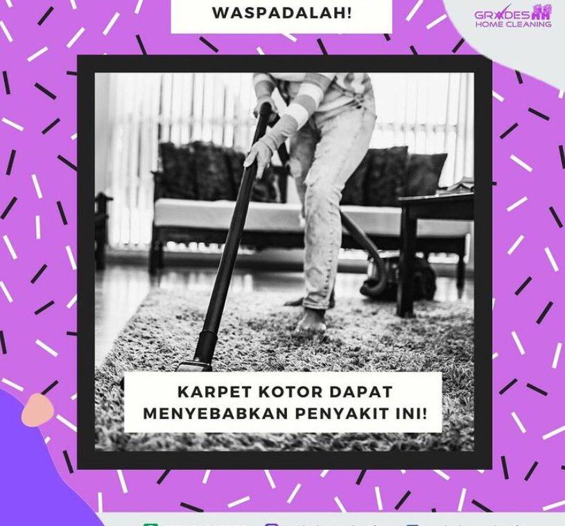 cara mecuci karpet agar tidak bau apek