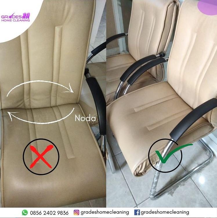 Cara membersihkan kursi kulit sintetis